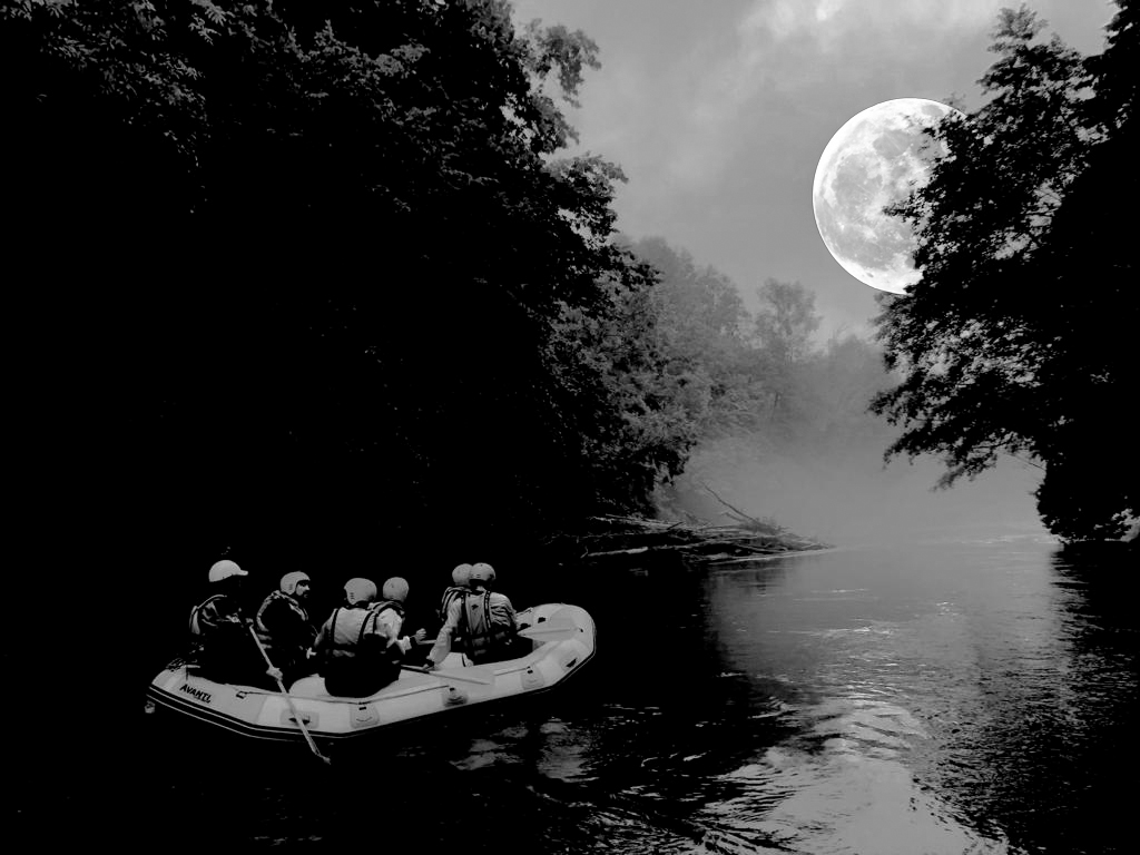 Full Moon Rafting